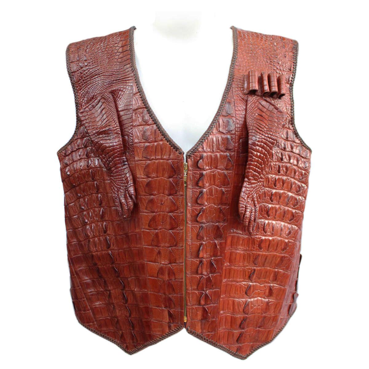 Áo khoác da cá sấu S1144a