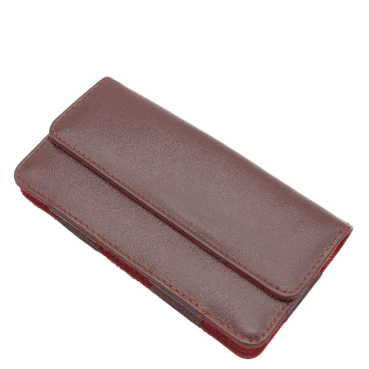 Bao điện thoại đeo lưng iphone 6/7/8 da bò B1001a
