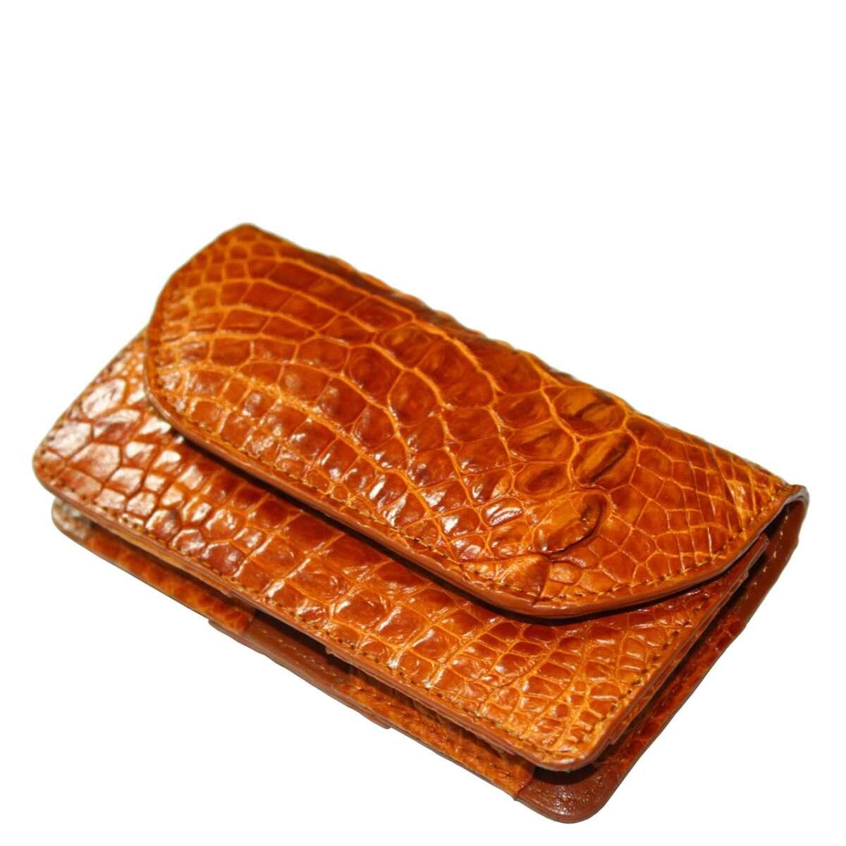 Чехол для Iphone 6/7/8 из кожи крокодила S1001a