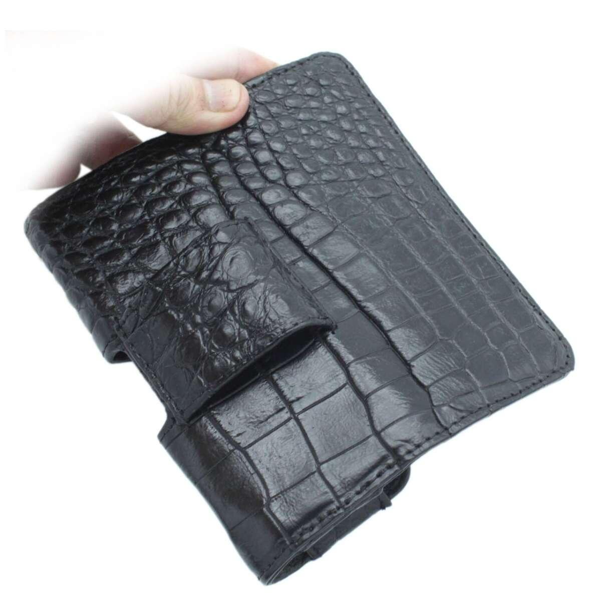 Bao điện thoại đeo lưng vertu da cá sấu S1003a