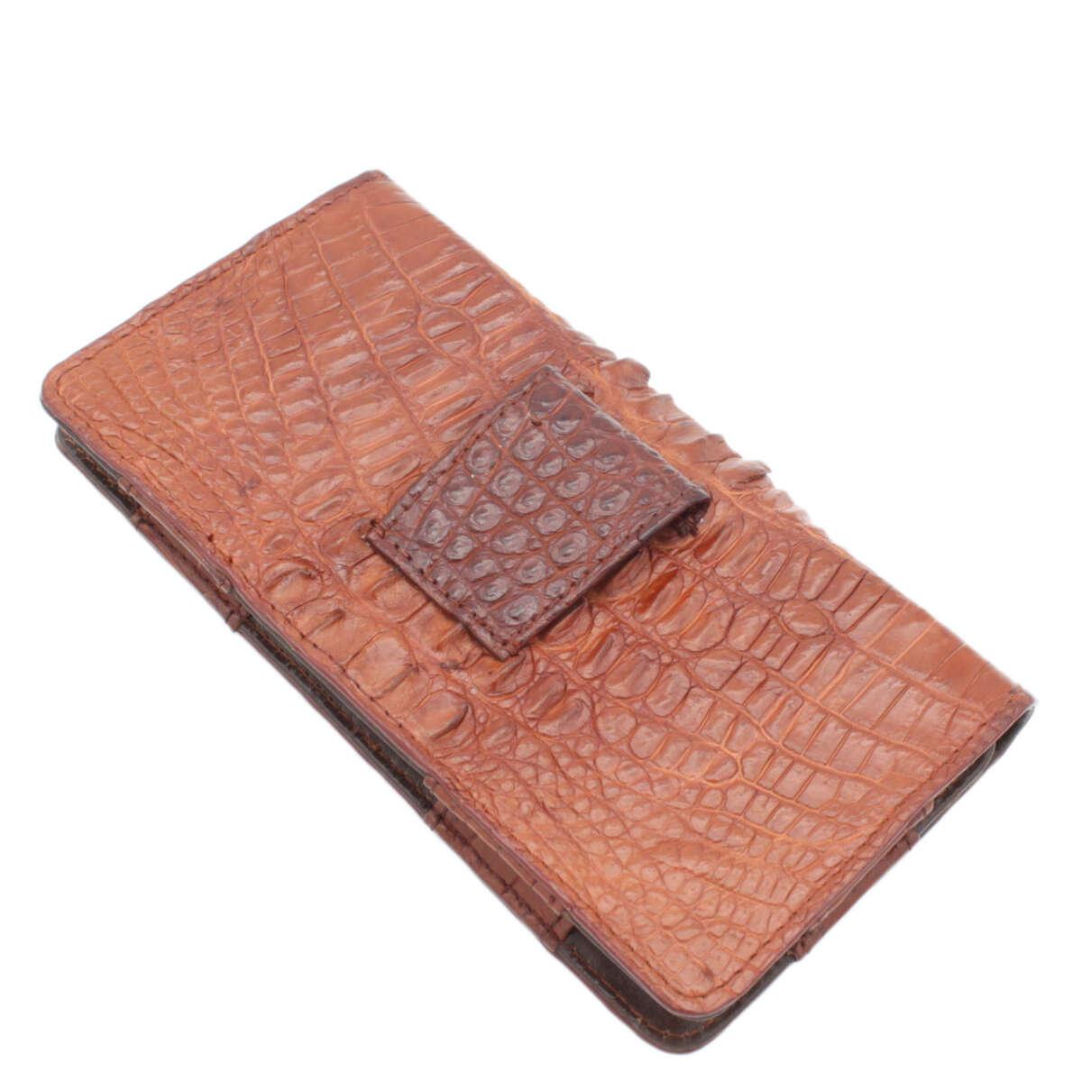 Bao điện thoại đeo lưng iphone 6/7/8 plus da cá sấu S1005a