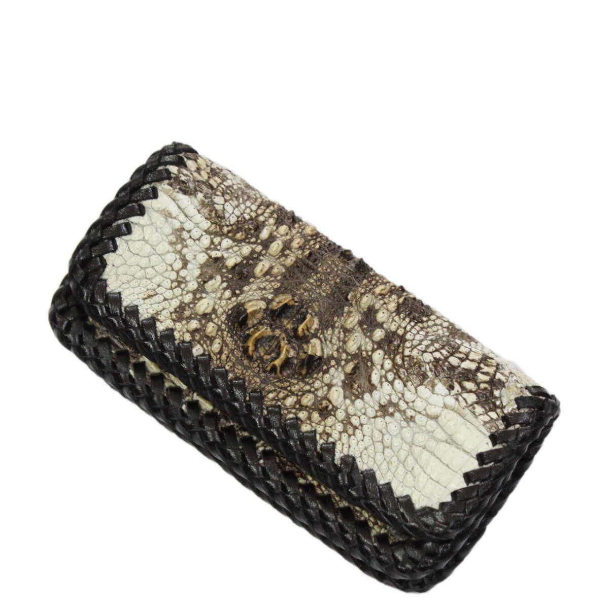 Bao điện thoại đeo lưng 8800 da cá sấu nguyên thủy S1007