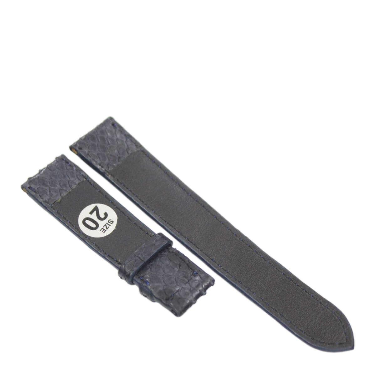 Dây đồng hồ da trăn T901a
