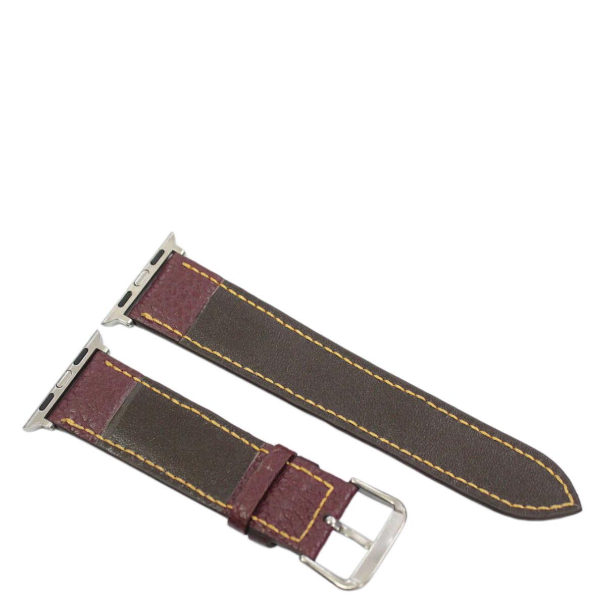 Dây nữ da bò may tay Apple Watch B982a