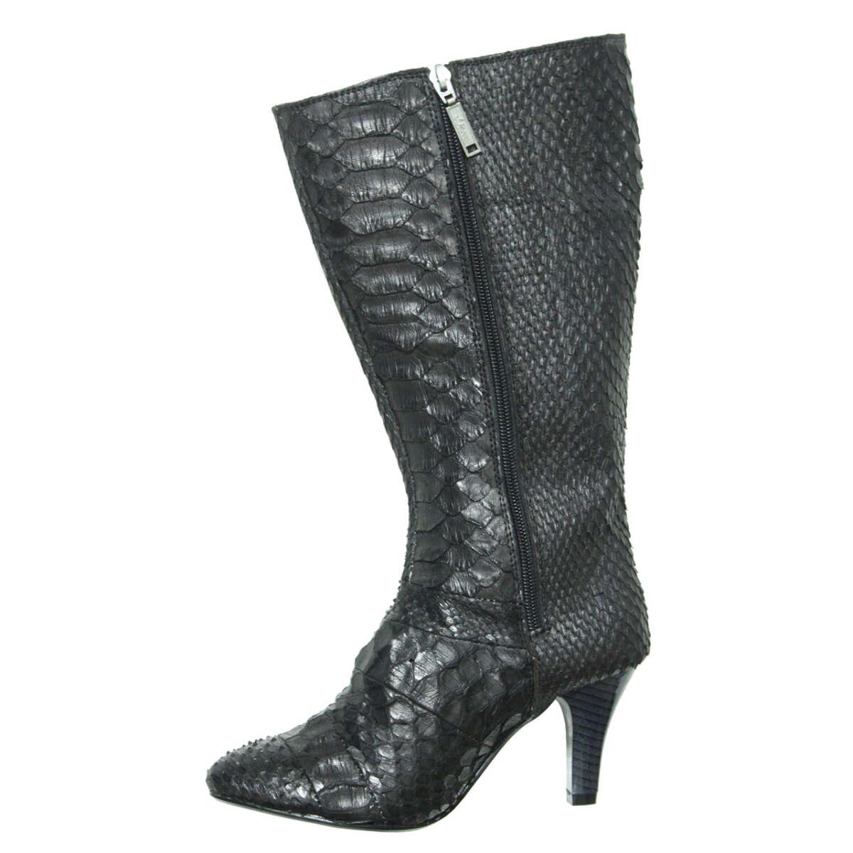 Giày bốt nữ da trăn T732d