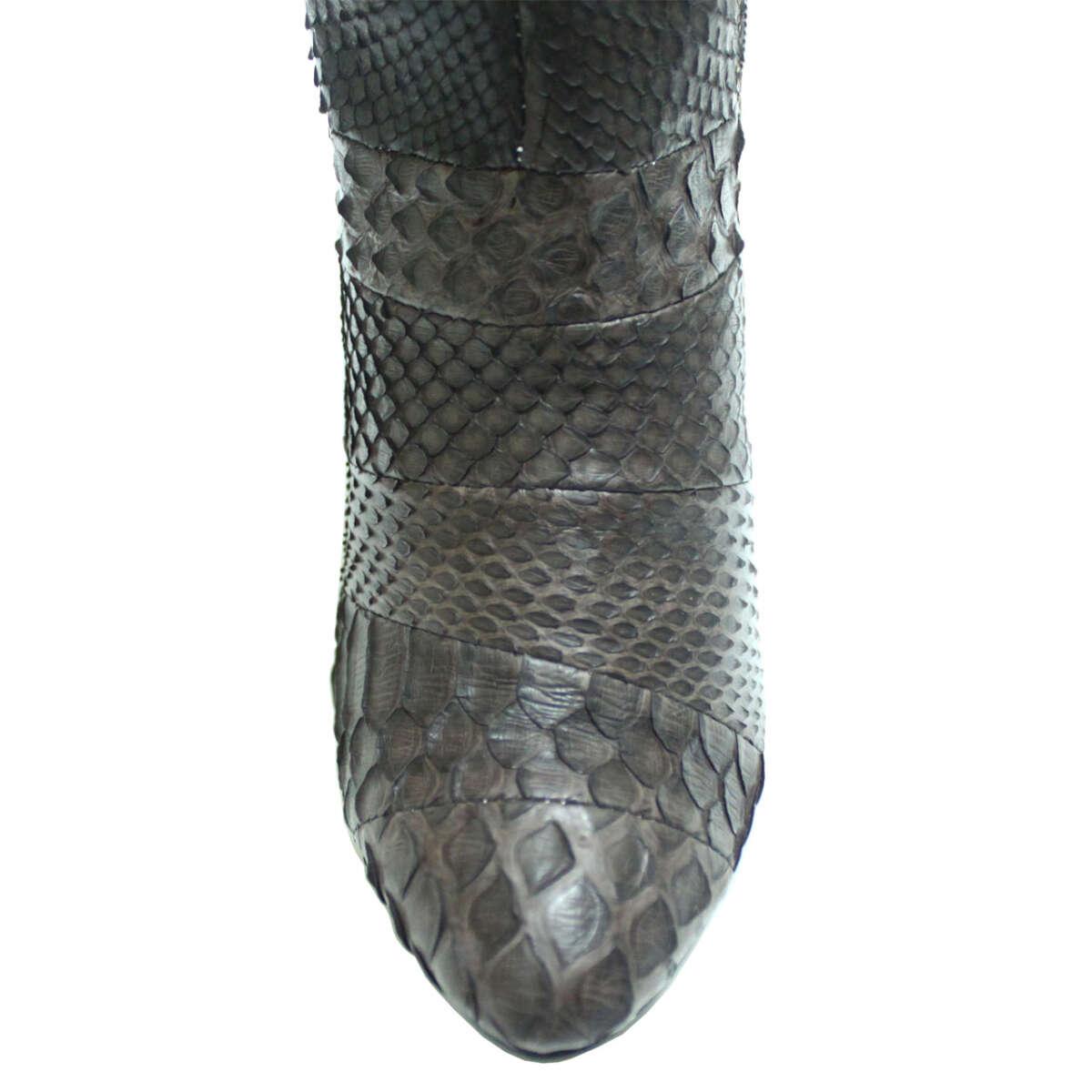 Giày bốt nữ da trăn T732e