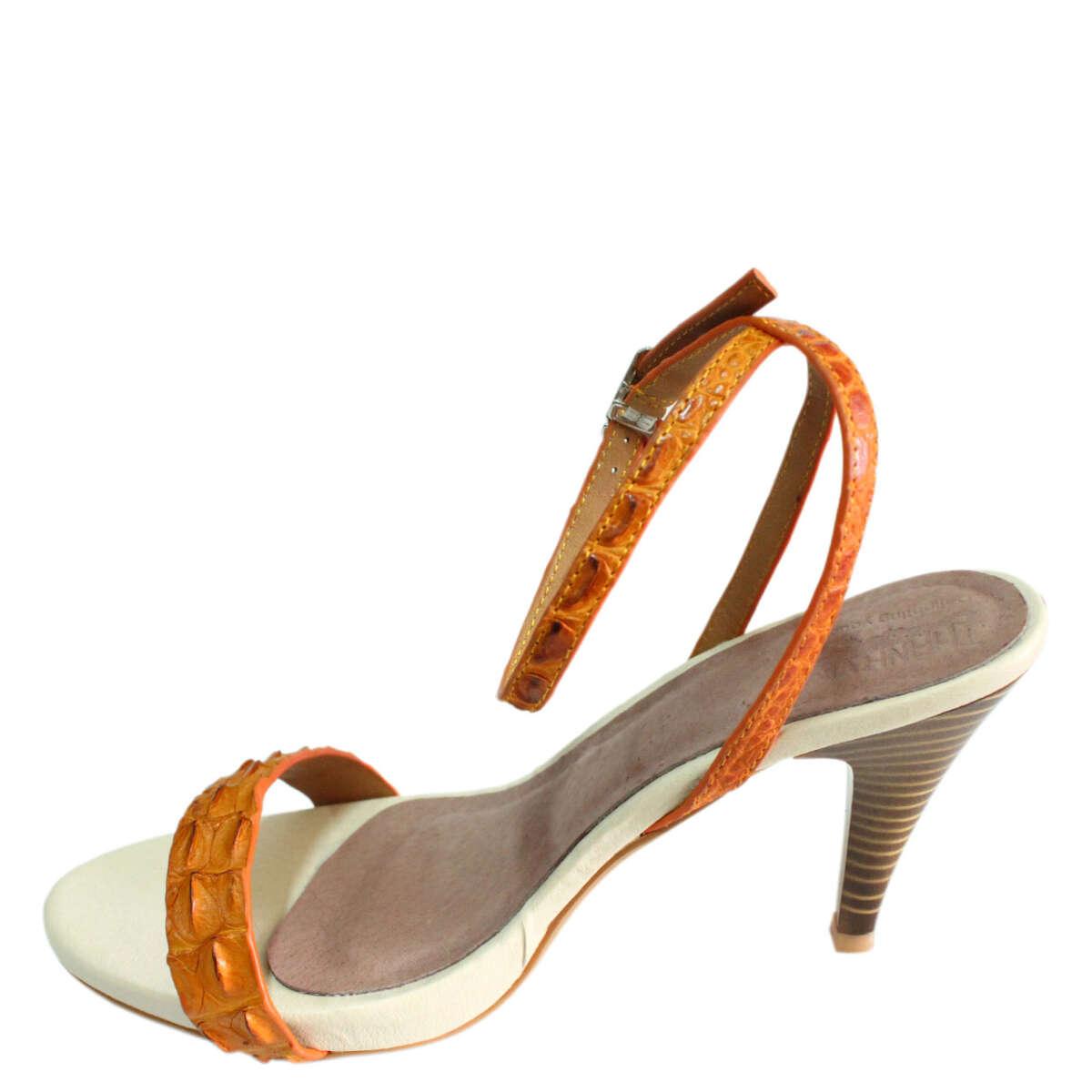 Giày cao gót da cá sấu S772a
