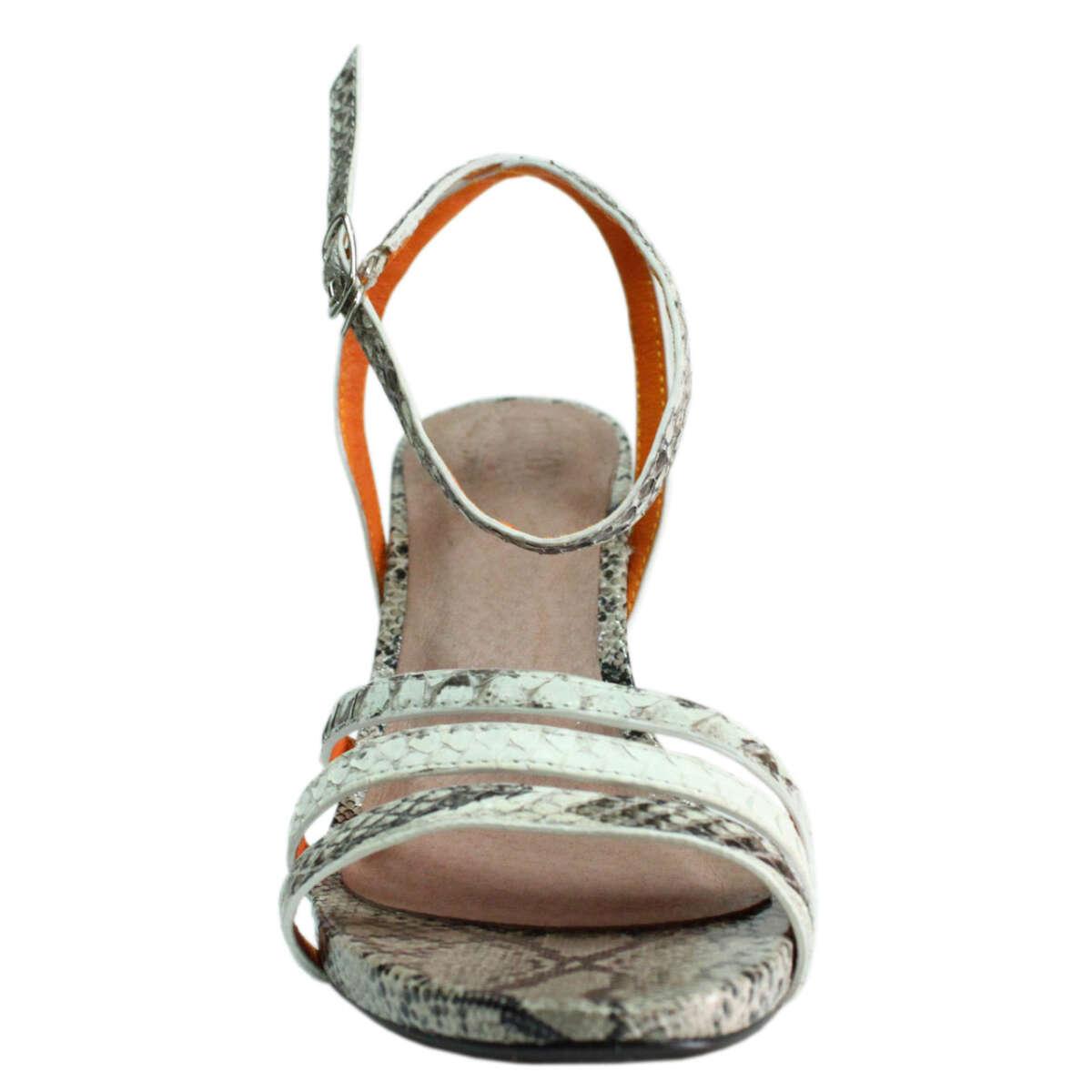 Giày cao gót da trăn T772