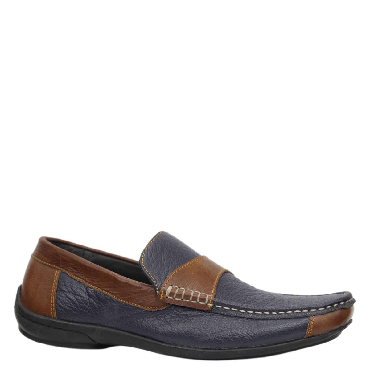 Giày lười nam da bò B861a