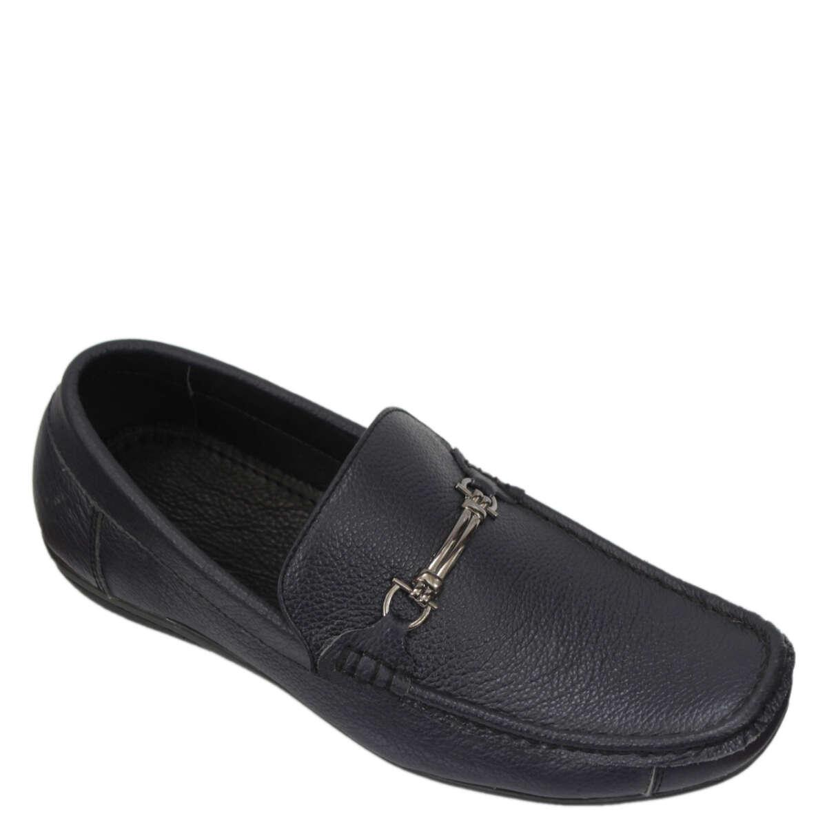 Giày lười nam da bò B862a