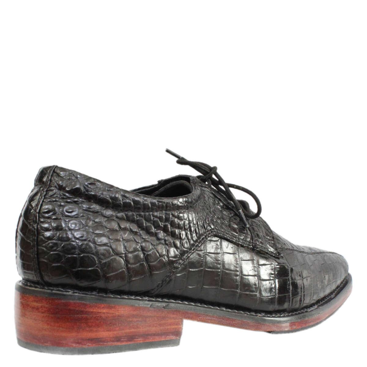 Giày nam da cá sấu S856b