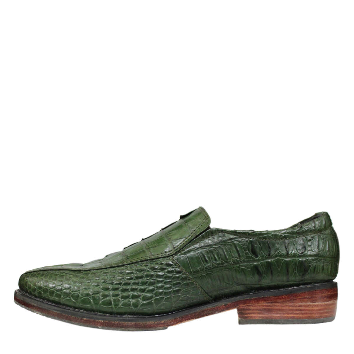 Giày nam da cá sấu S858b