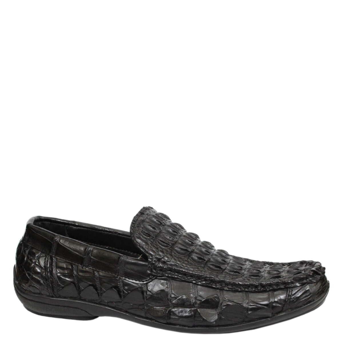 Giày lười nam da cá sấu S859a