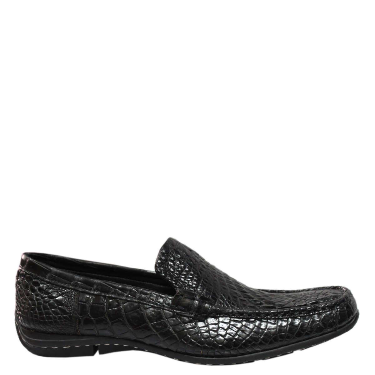 Giày lười nam da cá sấu S860a