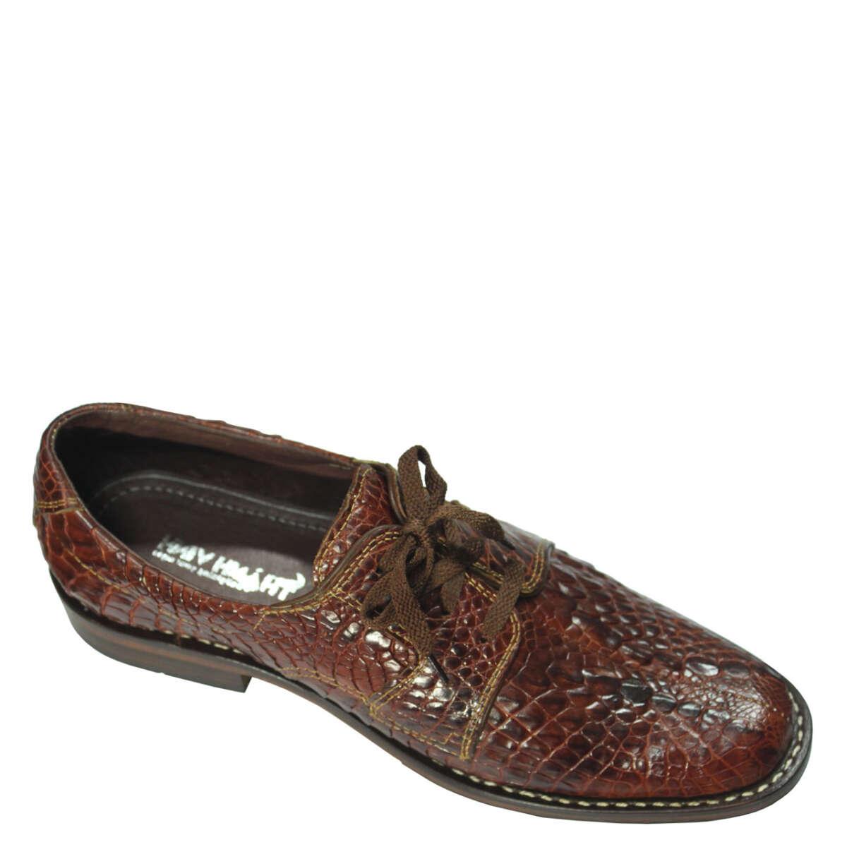 Giày nam da cá sấu S864a