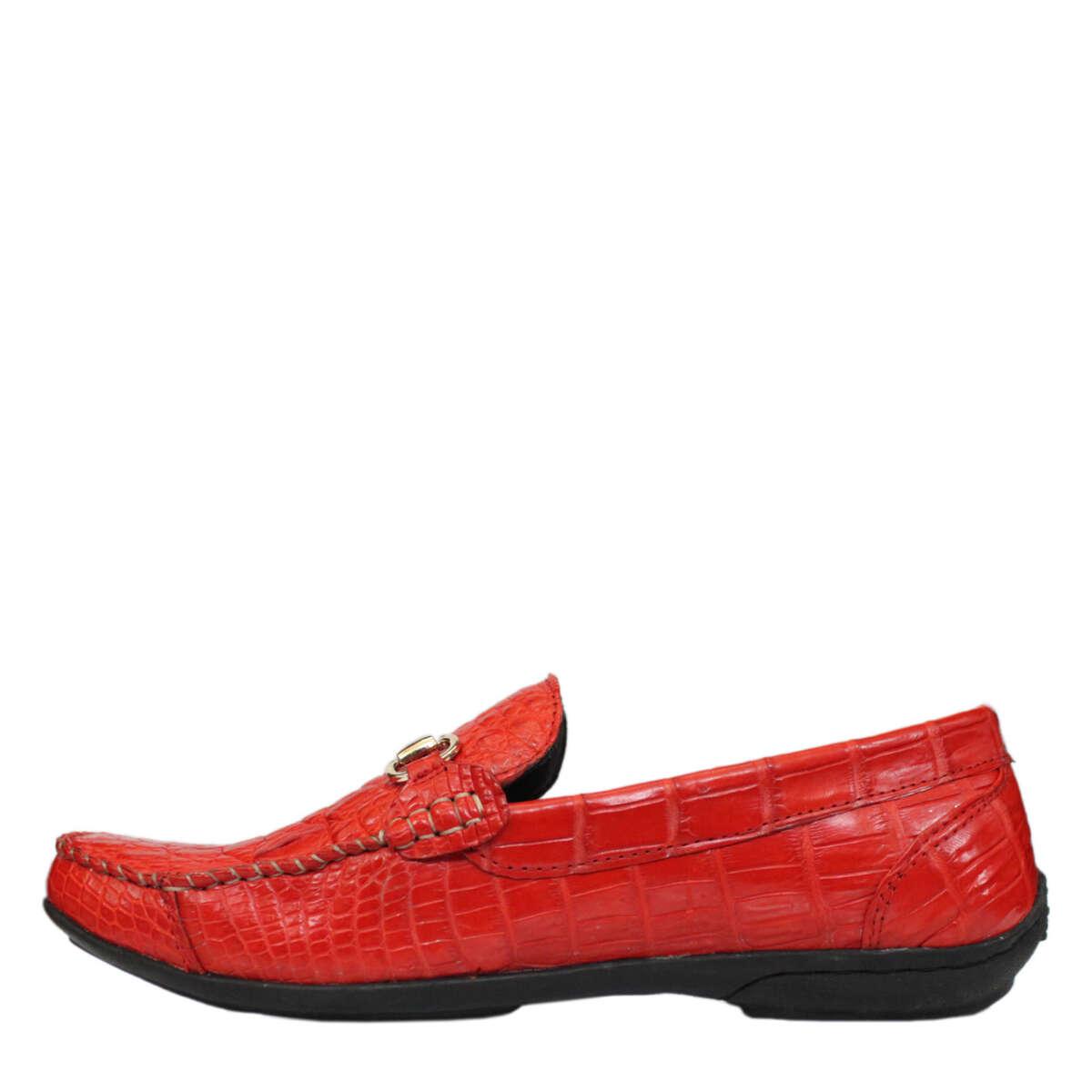 Giày nam da cá sấu S866a