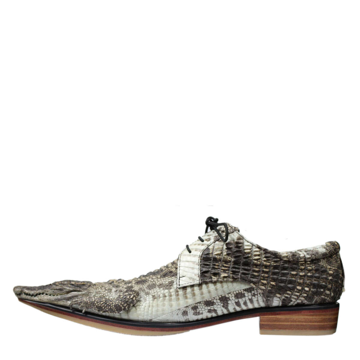 Giày nam da cá sấu nguyên thủy S870