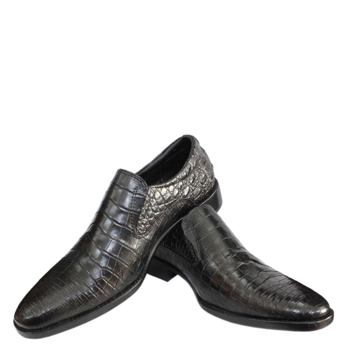 Giày nam da cá sấu S876a