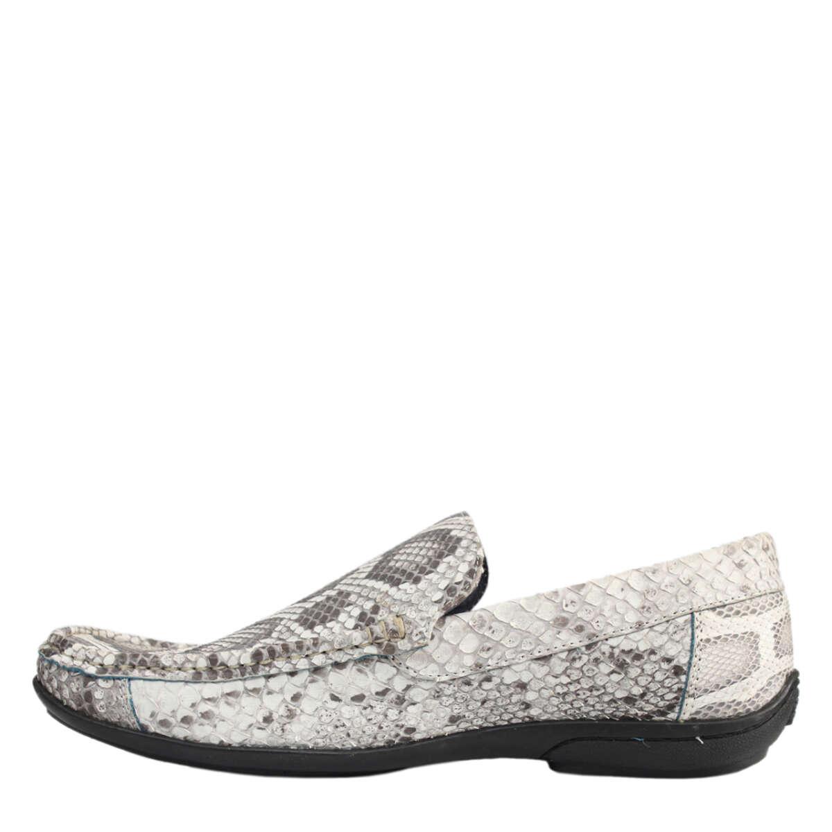 Giày lười nam da trăn T857a