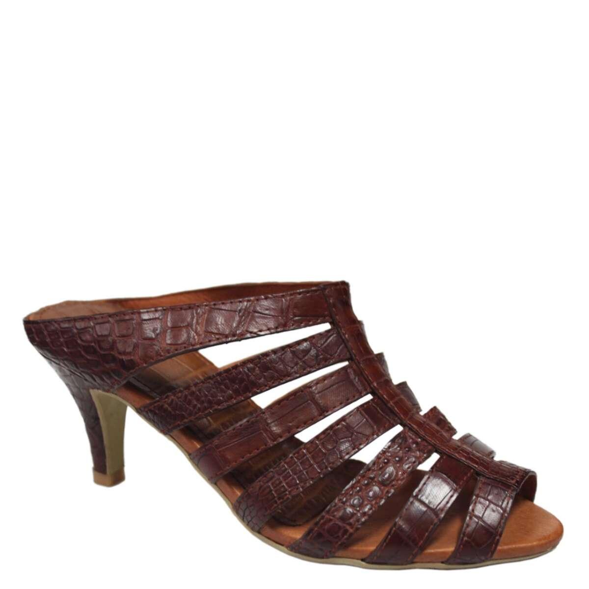 Crocodile leather high heels S791a