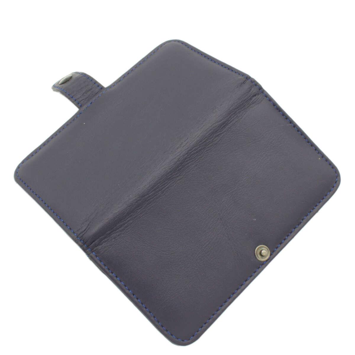 Ốp lưng dạng ví iPhone 5s/SE da bò B1041a