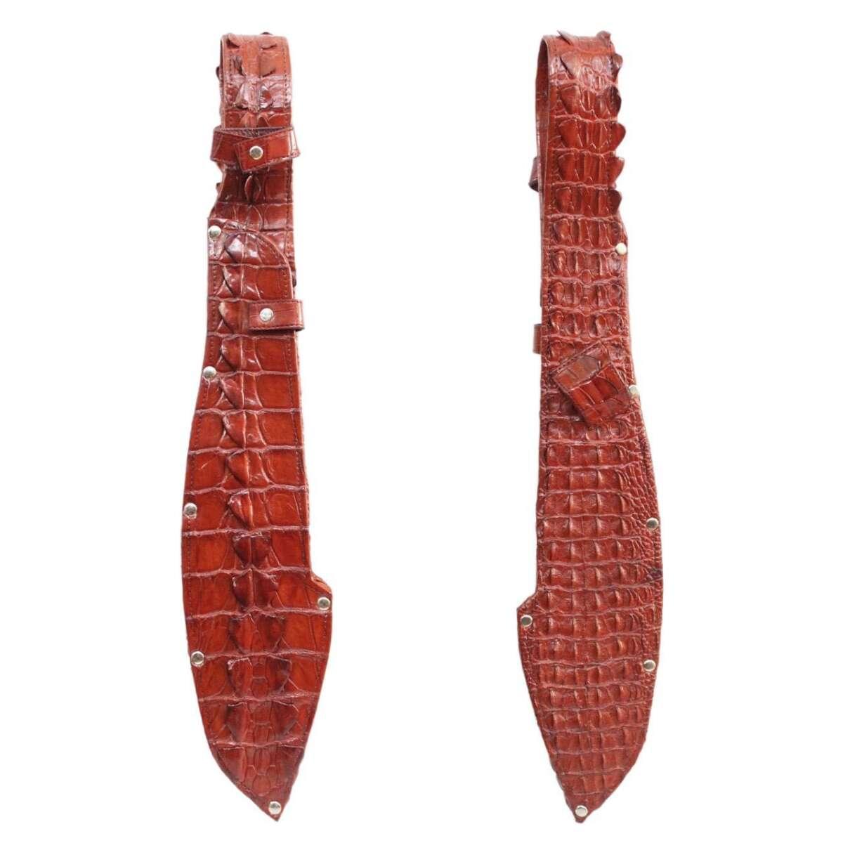 Bao dao đeo thắt lưng da cá sấu S1161a