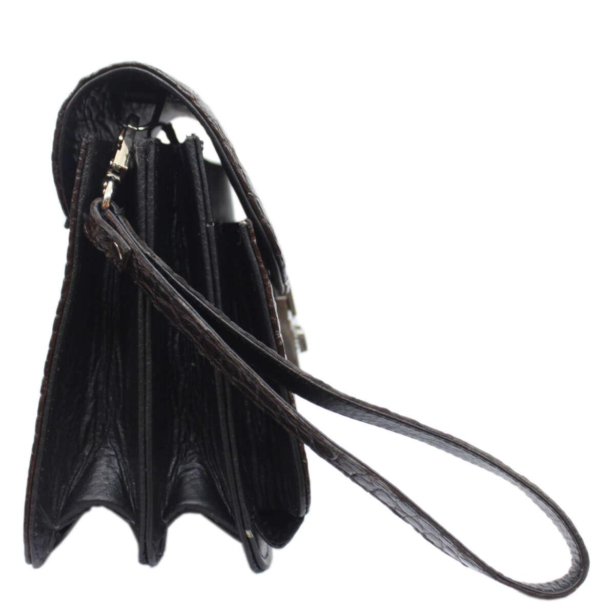 Túi cầm tay nữ da cá sấu S151a