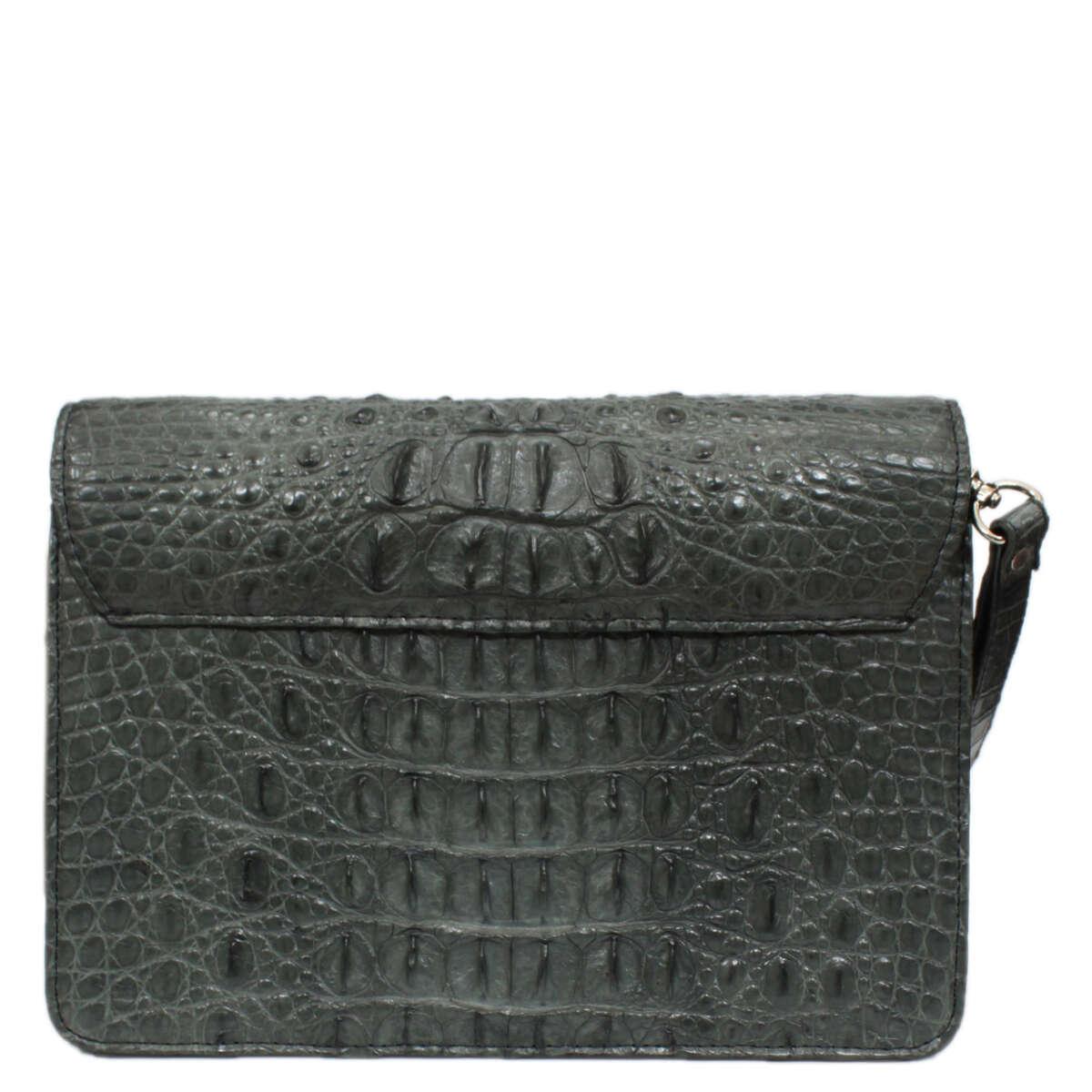Túi cầm tay nữ da cá sấu S152a