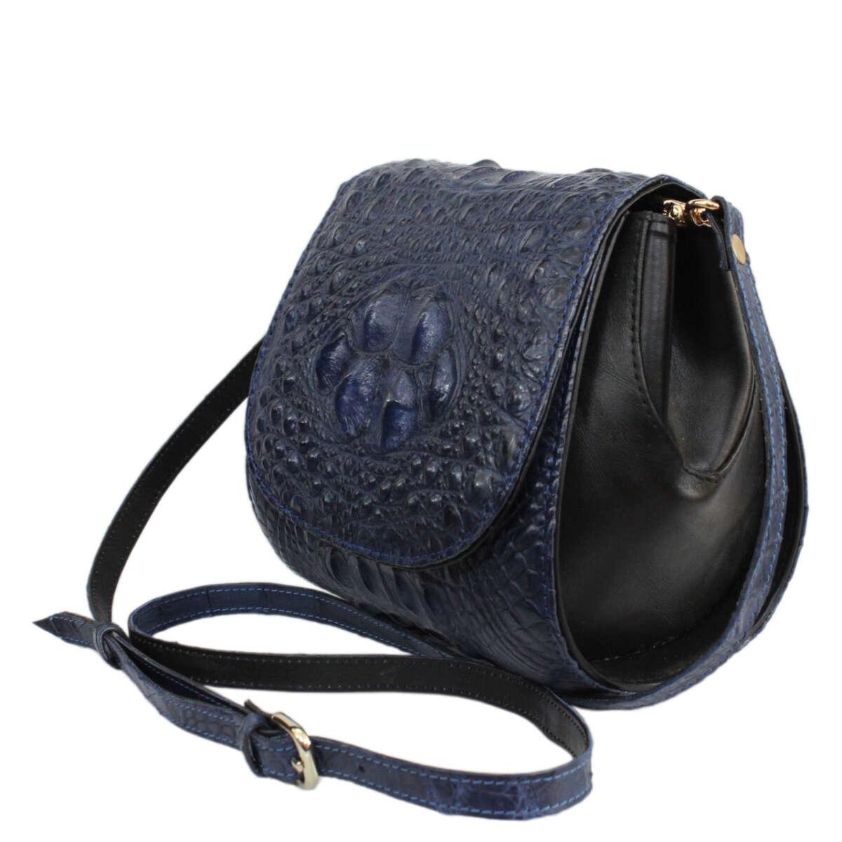 Túi đeo chéo nữ da cá sấu S122a
