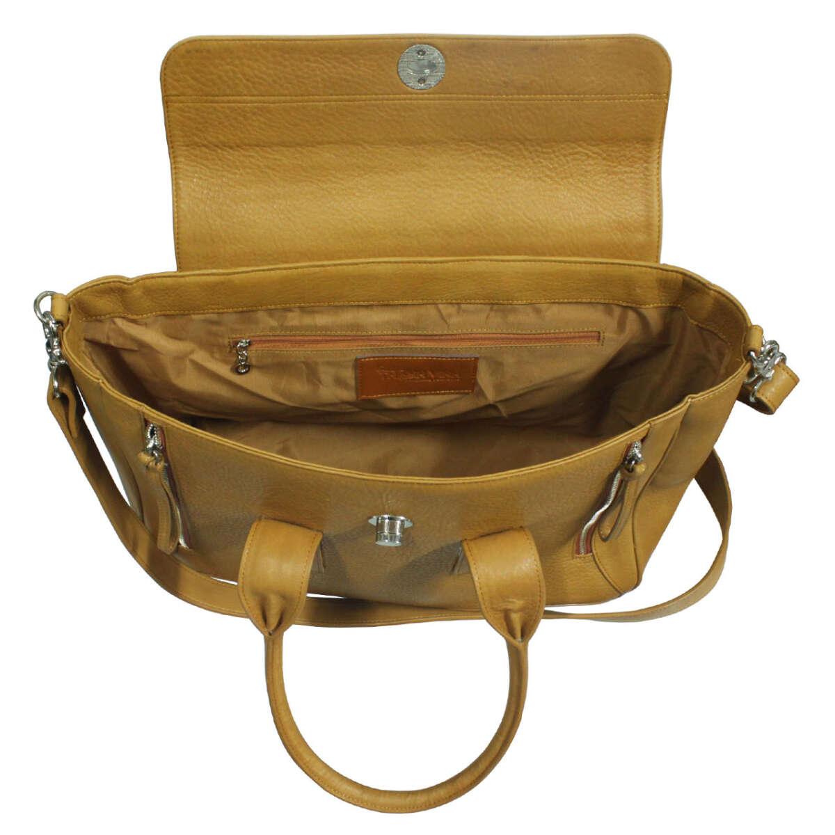 Túi xách nữ da bò B015b
