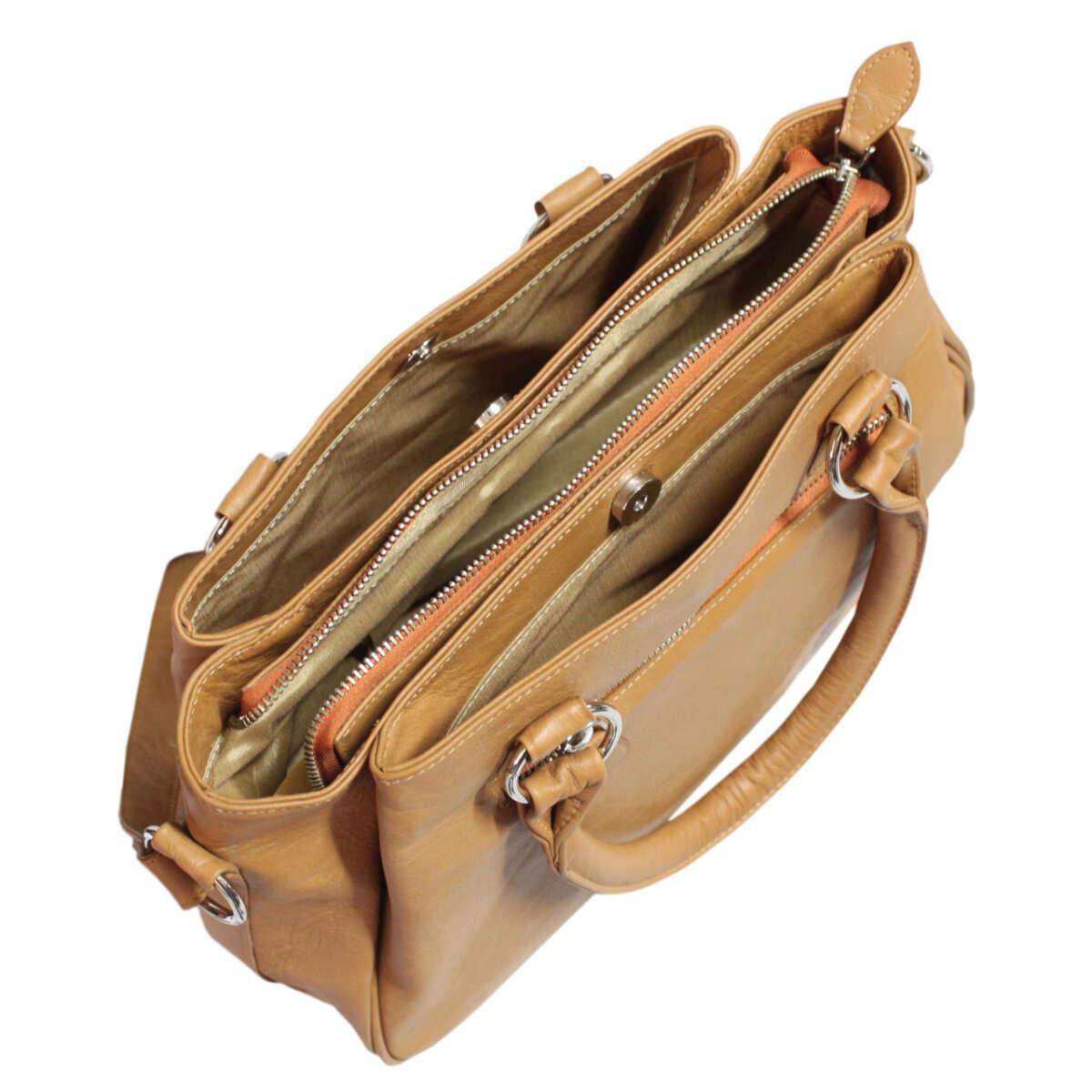 Túi xách nữ da bò B016a