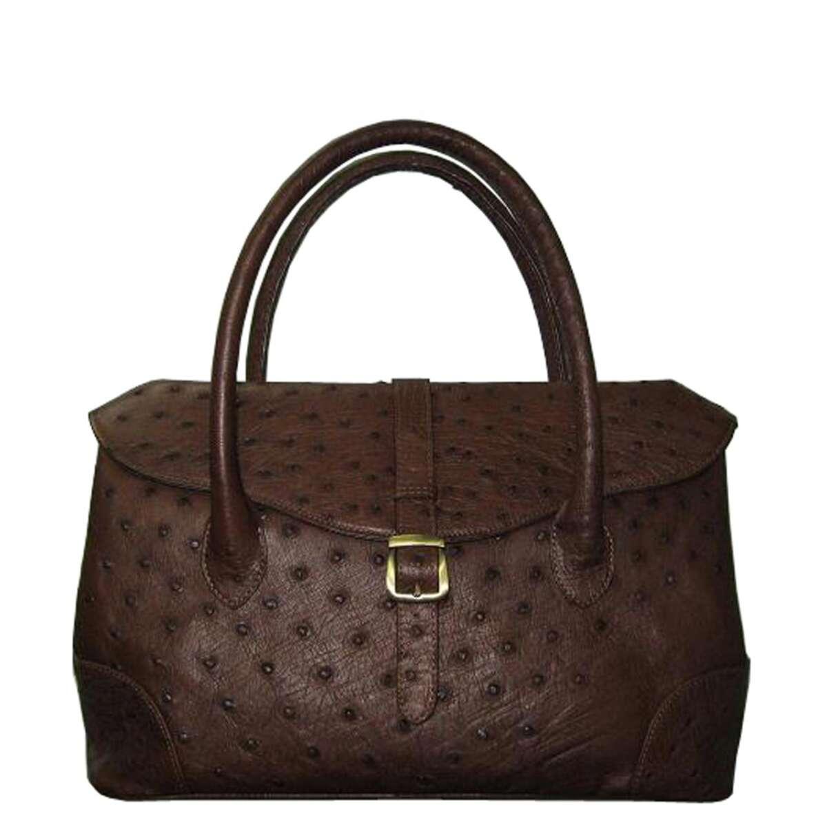 Túi xách nữ da đà điểu E004