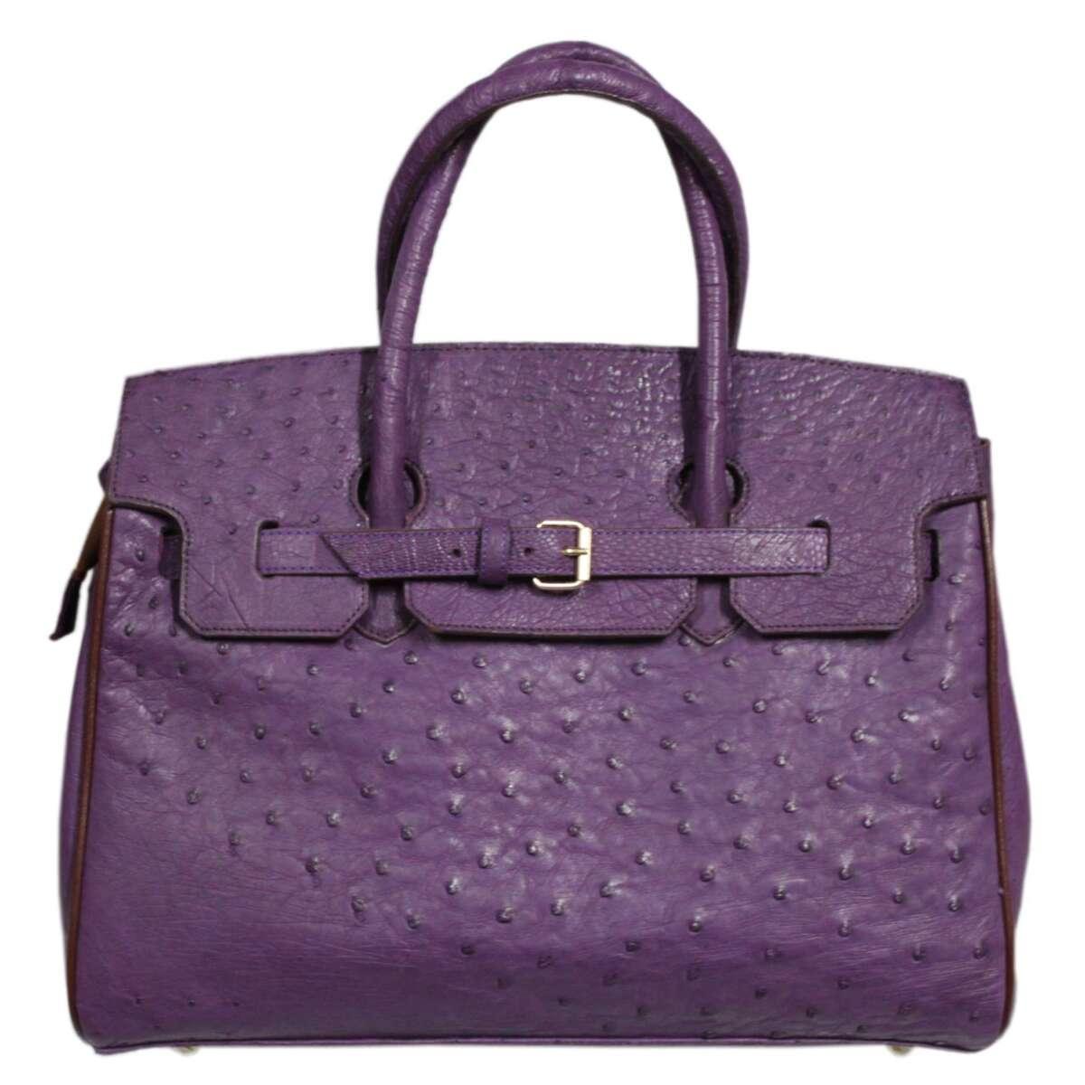 Túi xách nữ da đà điểu E006a