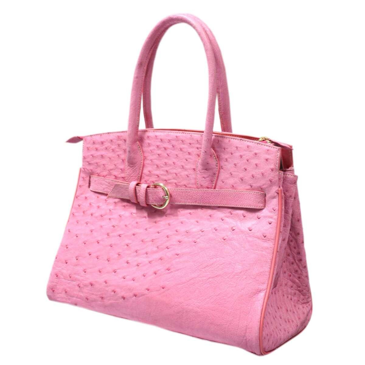 Túi xách nữ da đà điểu E007a