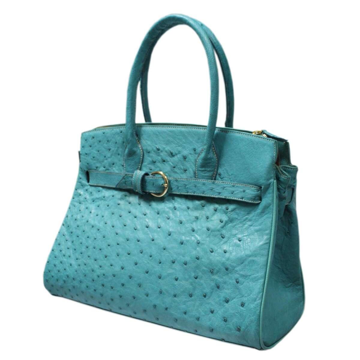 Túi xách nữ da đà điểu E007b