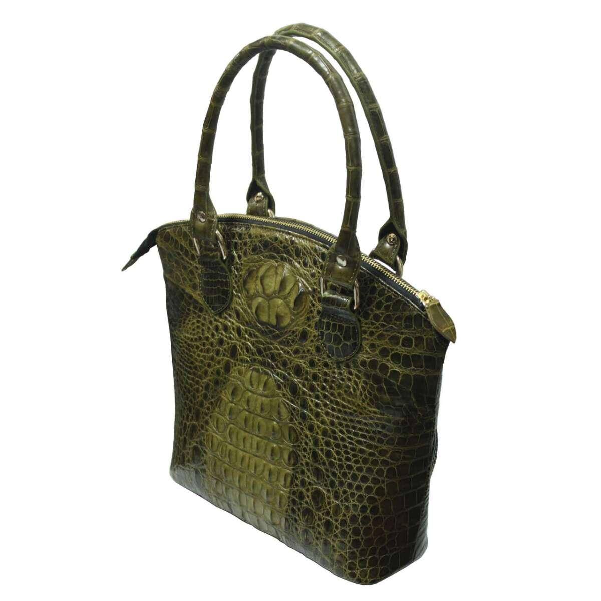 Túi xách nữ da cá sấu S009c