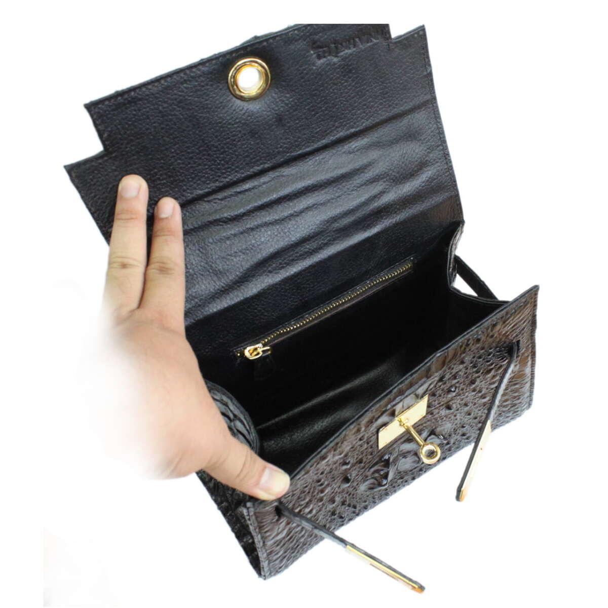 Túi xách nữ da cá sấu S042a