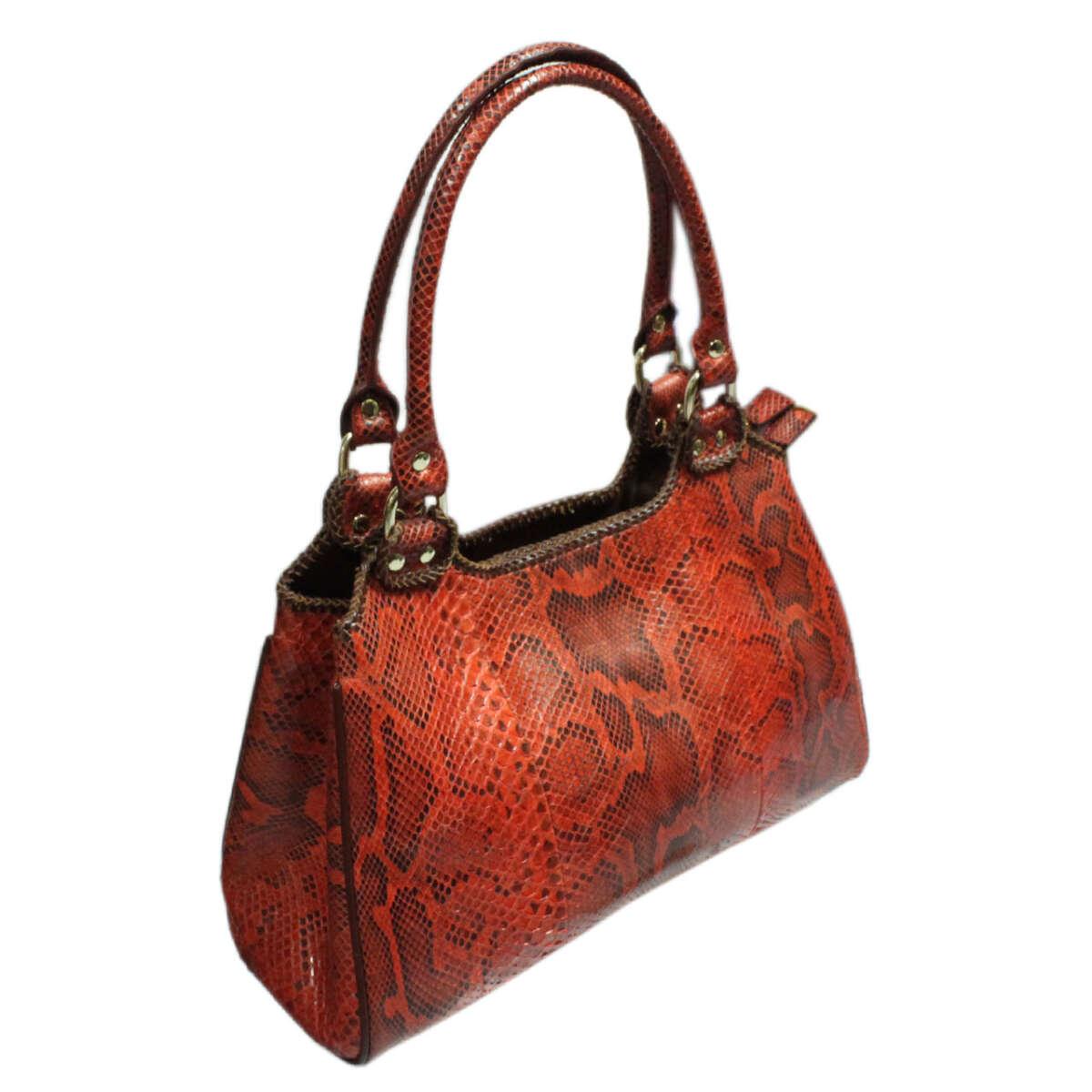 Túi xách nữ da trăn T007b