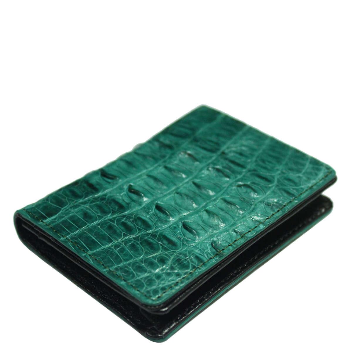 Ví card da cá sấu S965b